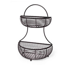 Rope 2 Tier Countertop Basket