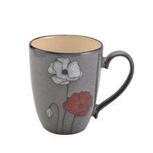 Grey Poppy Mug
