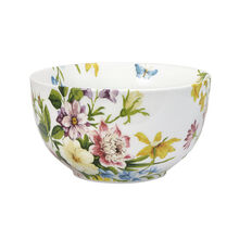 Floral Soup Cereal Bowl