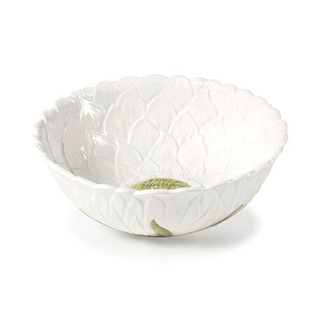 Teal Vegetable Bowl