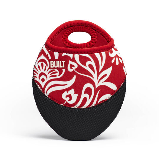 Damask Cranberry Red Pot Holder