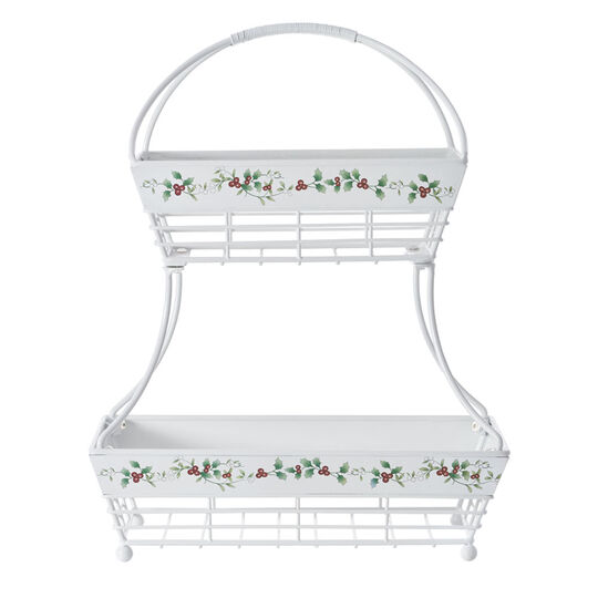 2 Tier Flatback Basket