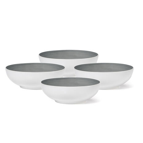 Grey Set Of 4 Cereal Bowls