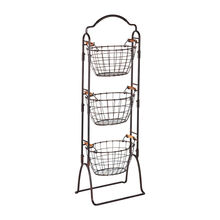 3 Tier Wire Market Basket