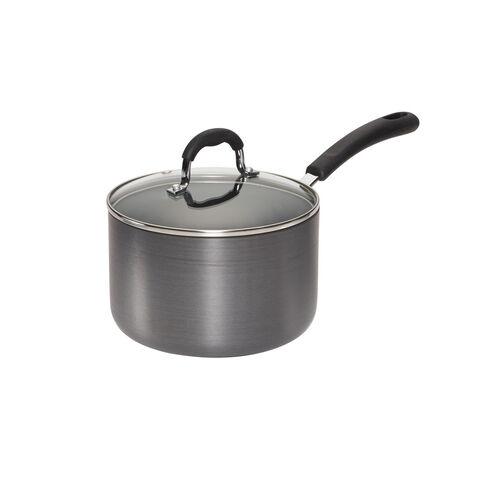 3 Quart Passione Aluminum Sauce Pan With Lid