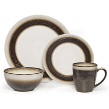 Bronze 16 Piece Dinnerware Set