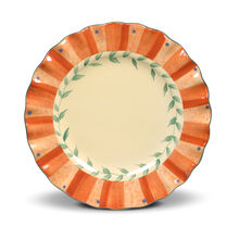Fluted Salad Plate