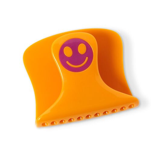 Yellow Purple Get Happy Sponge Holder