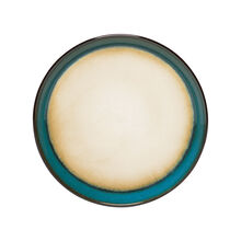 Teal Salad Plate
