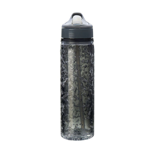 Tritan Double Walled Water Bottle with Crackle Gel