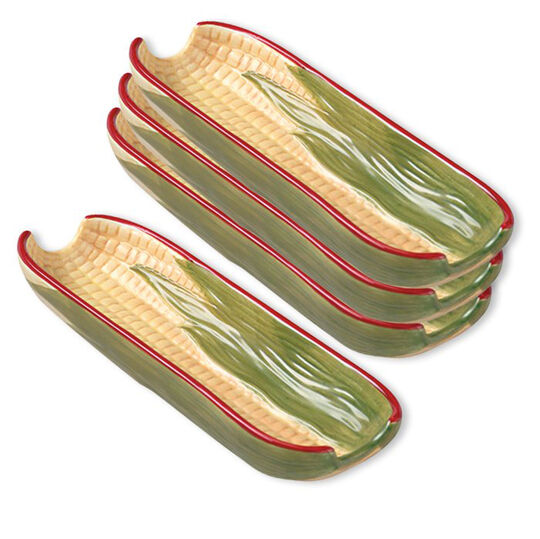 Set of 4 Corn Dishes