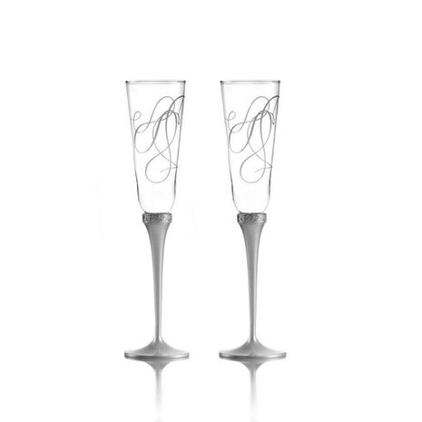 Toasting Flute Glasses, Set of 2