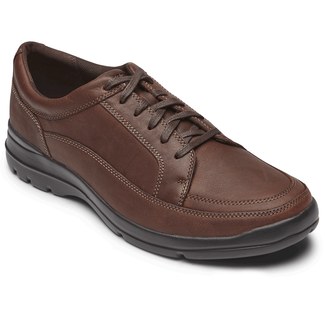 Junction Point Lace to Toe Comfortable Men's Shoes in Brown