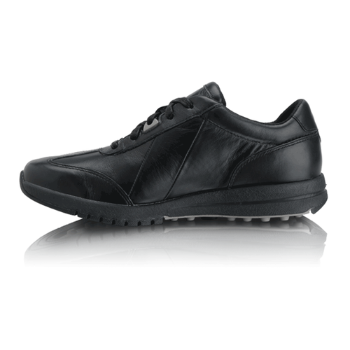 Zana Lace Up Women's Sneakers in Black