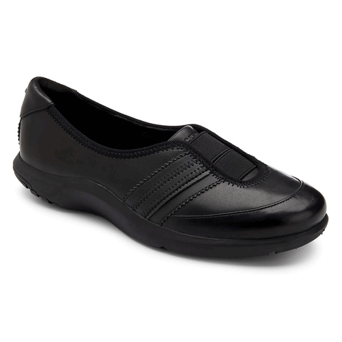 World Tour Double Gore Slip On Women's Slip On Shoes in Black