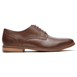 Rockport Men's Dark Brown Style Purpose Plain Toe