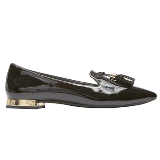 Total Motion Zuly Luxe Loafer, BLACK PATENT