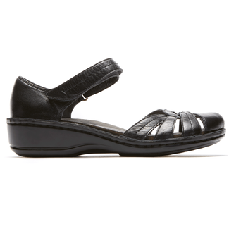 Cambridge Clarissa Fisherman Sandal in Black