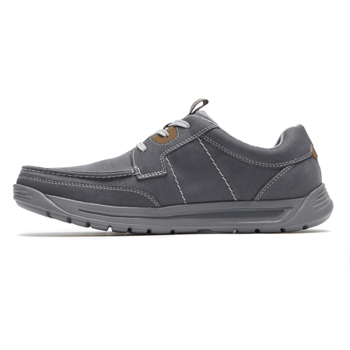 Randle Moc Toe  Comfortable Men's Shoes in Grey