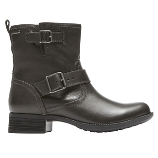 Copley Waterproof Buckle Boot, BLACK BRUSHOFF LTHR
