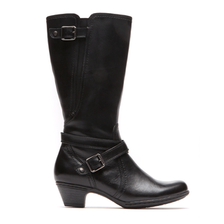 Ashlyn Cobb Hill by Rockport in Black