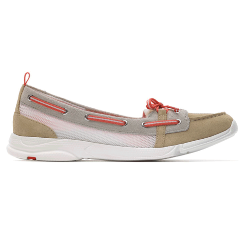 Cycle Motion Boat Shoe Washable Women's Shoes in Grey