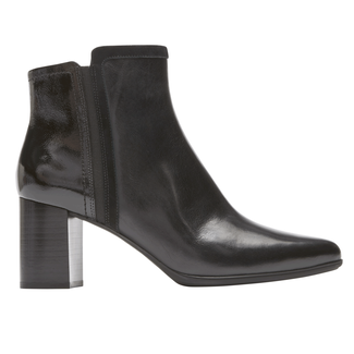 Total Motion Lynix Lay Bootie, BLACK