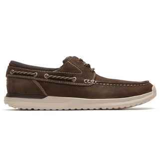 Langdon 3-Eye Oxford Comfortable Men's Shoes in Brown