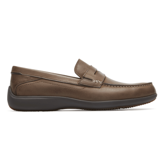 Aiden Penny Loafer  Comfortable Men's Shoes in Brown