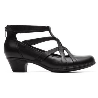 Adrina Cobb Hill by Rockport in Black