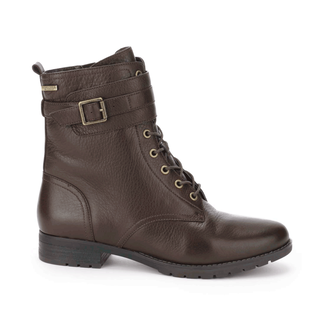 Tristina Laceup Boot, Women's Dark Brown Boots