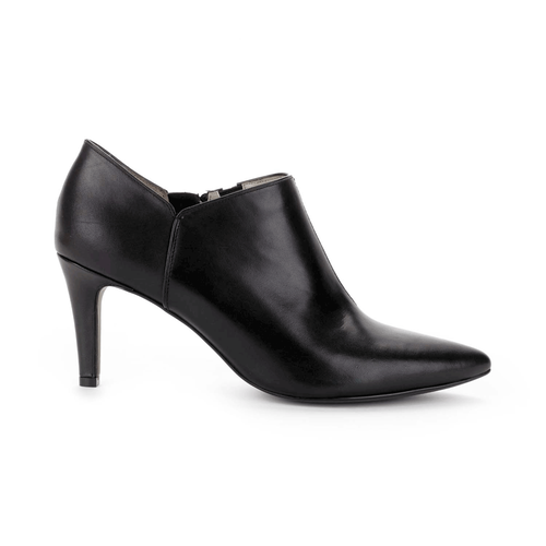 Lendra Plain Shootie Women's Boots in Black