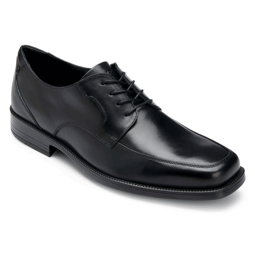 Ready For Business Moc FrontReady For Business Moc Front - Men's Black Dress Shoes