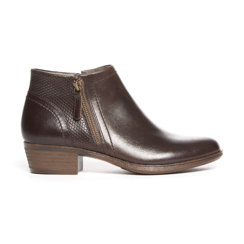 Cobb Hill Oliana Bootie, STONE PULL UP LTHR