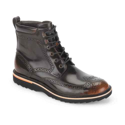 Union Street Wingtip Boot Men's Boots in Grey