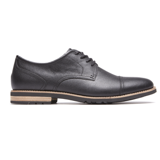 Ledge Hill 2 Cap Oxford in Black