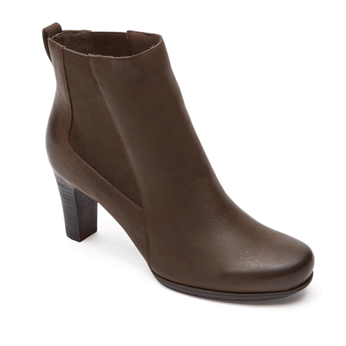 Total Motion Chelsea Women's Boots in Brown
