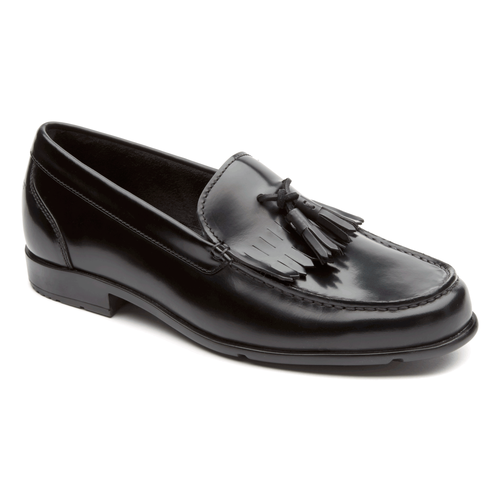 Classic Loafer Tassle Men's Loafers in Black