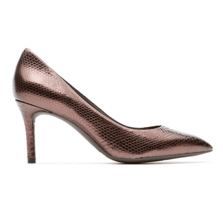 Rockport Women's Bronze Total Motion Pointed Toe Pump