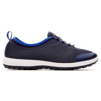 WALK360 Washable Laceup Women's Casual Shoes in Navy