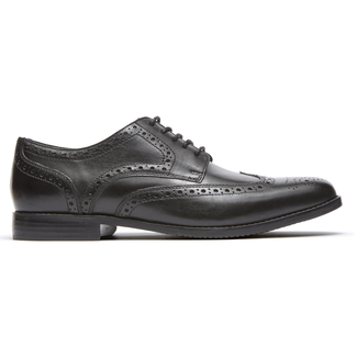 Style Purpose Wingtip, BLACK