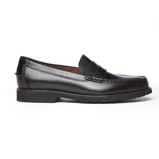 Classic Move Penny Loafer in Black