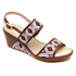 Emmalina 2 Band Sling Women's Sandals in Purple