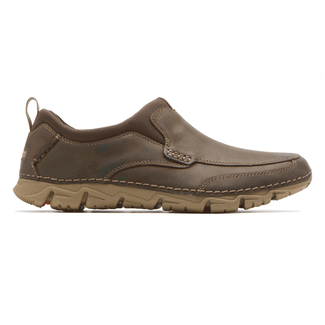 RocSports Lite 2 Moc Toe Slip On - Men's Brown Casual Shoes