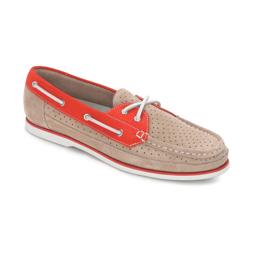 Bonnie Perf Boat Shoe Women's Boat Shoes in Grey