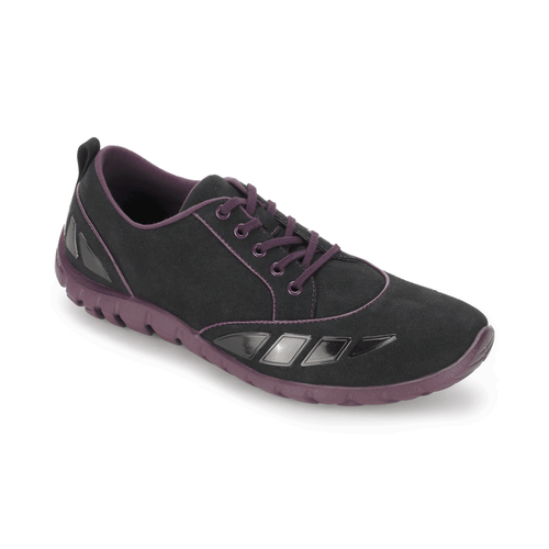 truWALKzero Pod Lace Up Women's Sneakers in Black