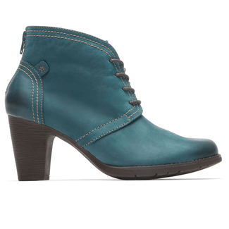 Keara Heeled Bootie Cobb Hill by Rockport in Navy