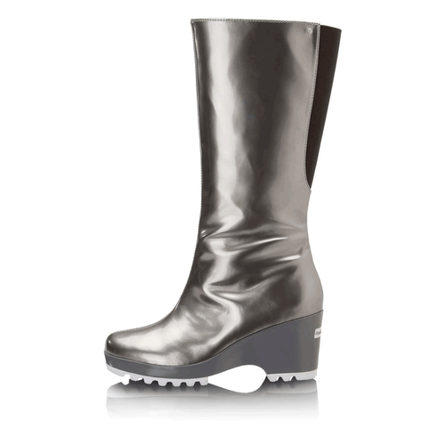 Lorraine Rainboot Women's Boots in Grey