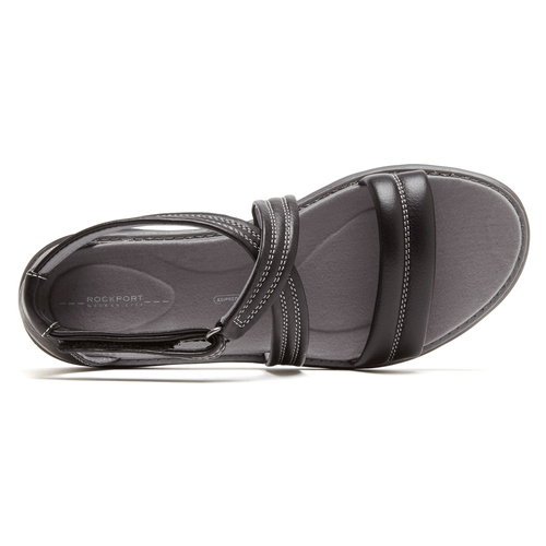 truWALKzero Anklestrap Sandal Women's Sandals in Black