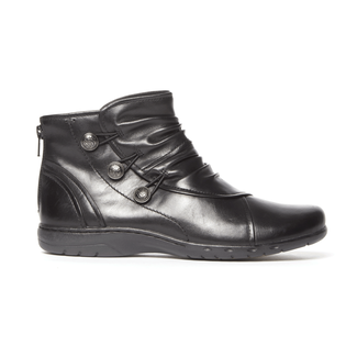 Cobb Hill Penfield Bootie, BLACK LTHR